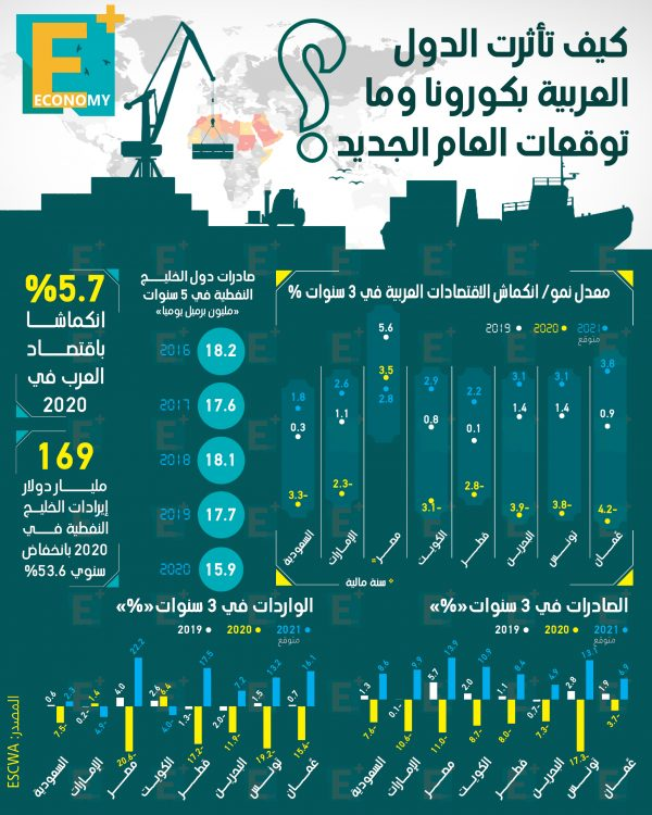 كيف تأثرت الدول العربية بكورونا وما توقعات العام الجديد؟