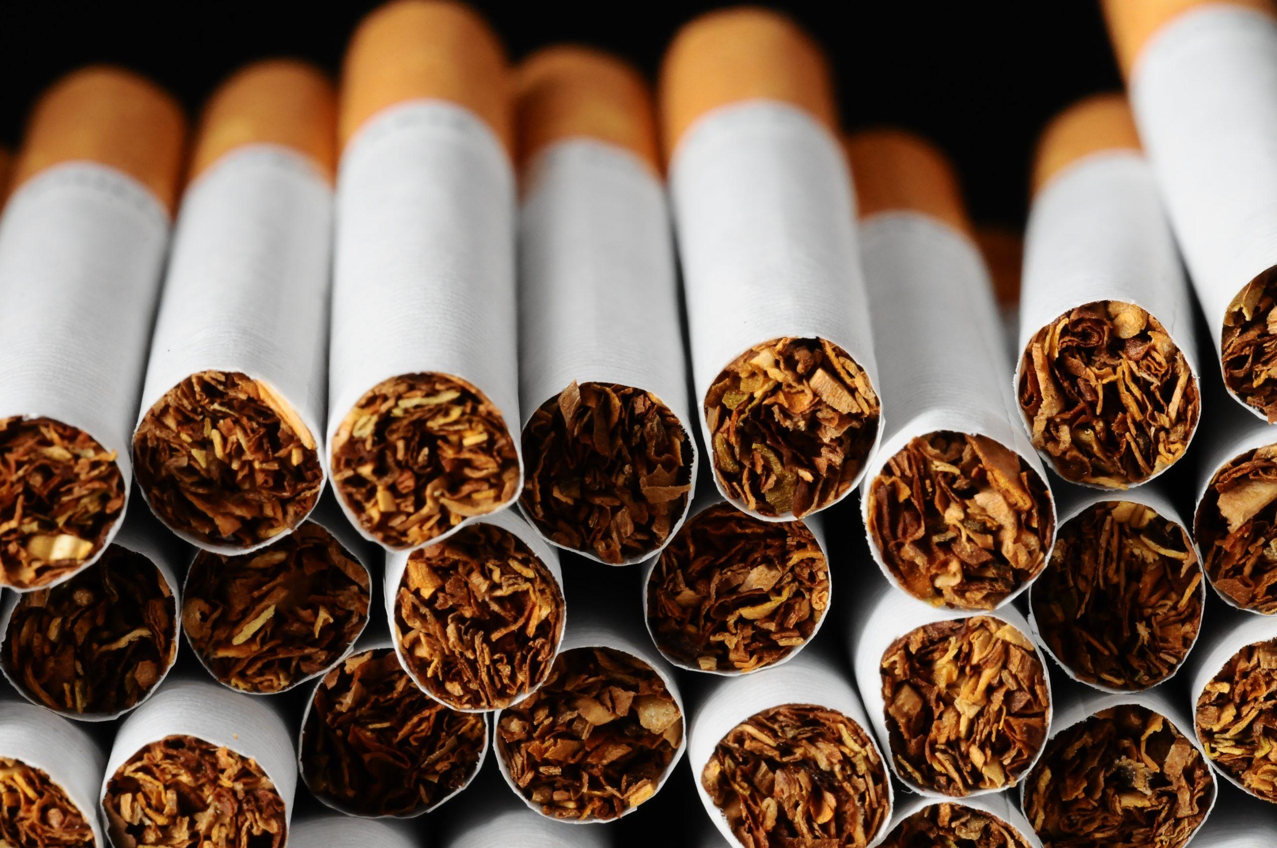 تصنيع السجائر