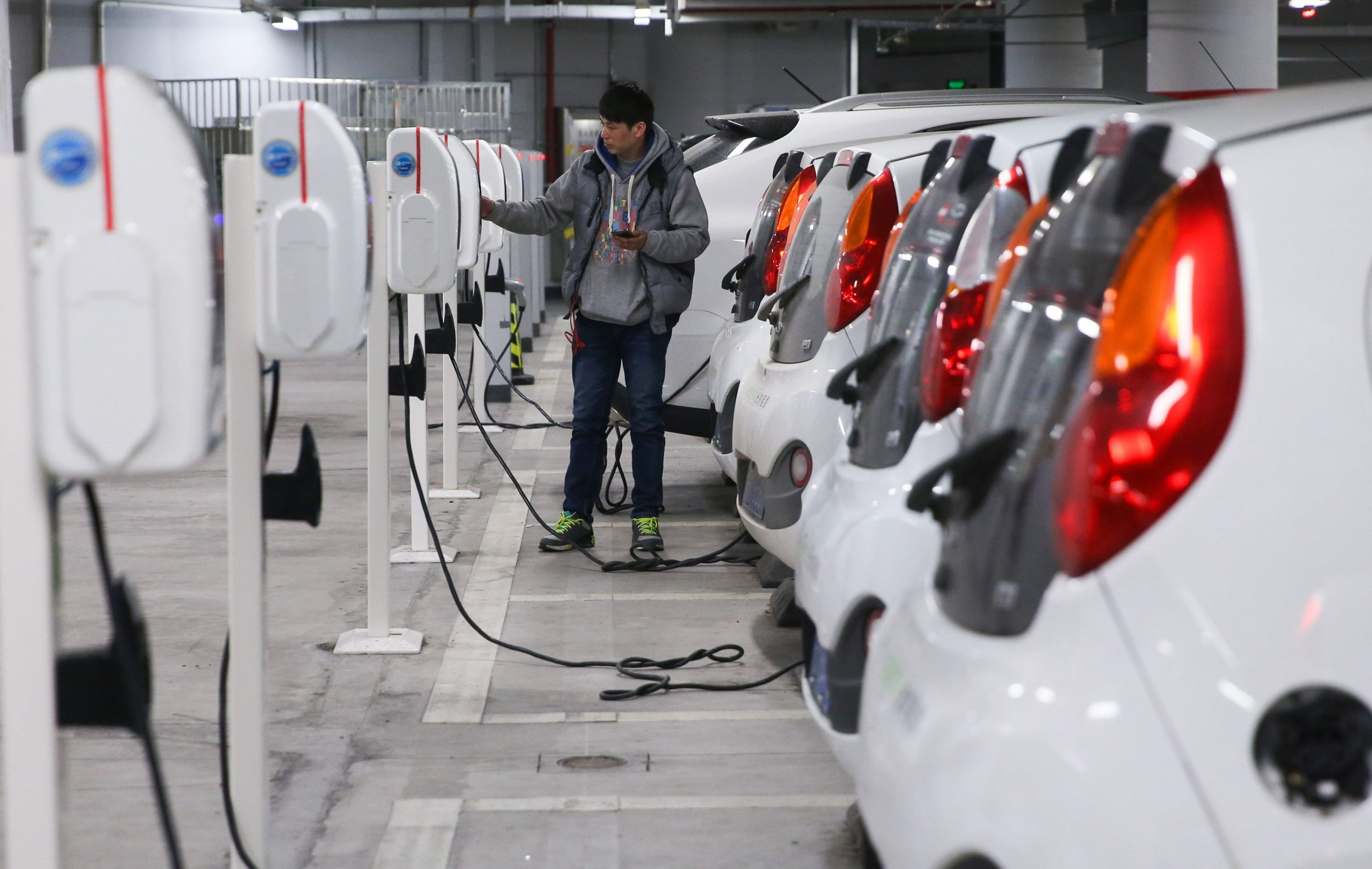 بالطاقة الجديدة بالصين