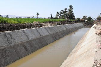 الري ترفع أطوال الترع المنتهية من التأهيل إلى 2540 كيلومترا