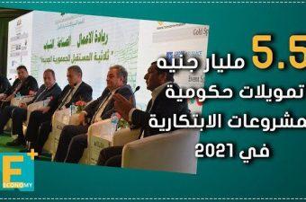 5.5 مليار جنيه تمويلات حكومية للمشروعات الابتكارية في 2021